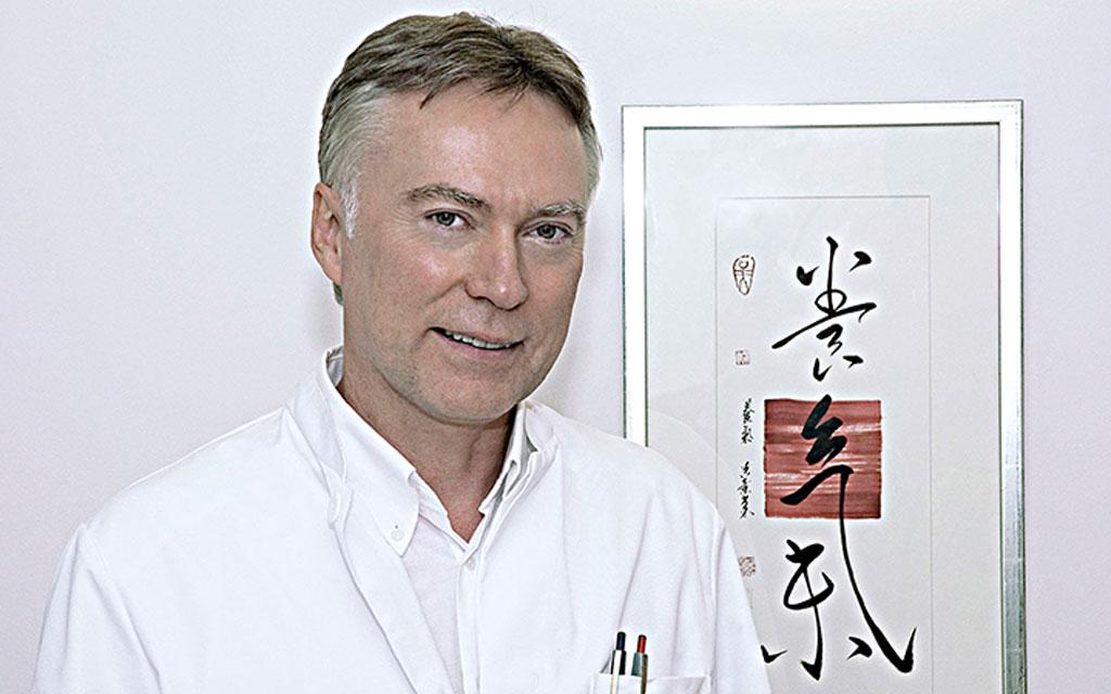 Dr. Johannes Fischer Facharzt für Innere Medizin in Ihrer Praxis für Akupunktur München.
